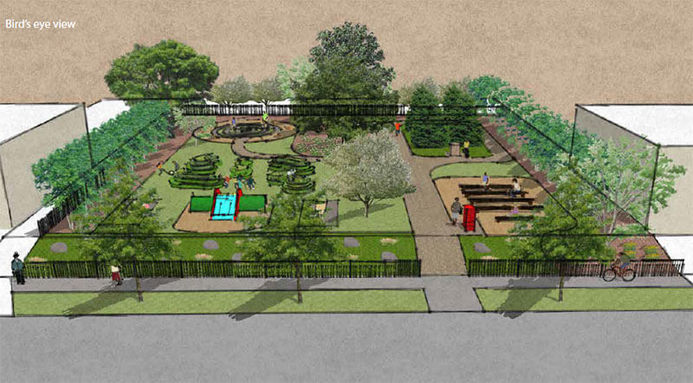 New Park Announcement Derek Owens Memorial Park Saint Luke S Foundation May 14 2019