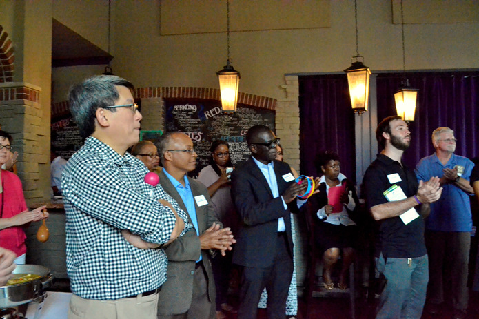 40+ guests attend A Strong Neighborhood Community Mixer